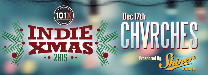 CHVRCHES Bring Some Holiday Cheer to Indie Xmas 2015