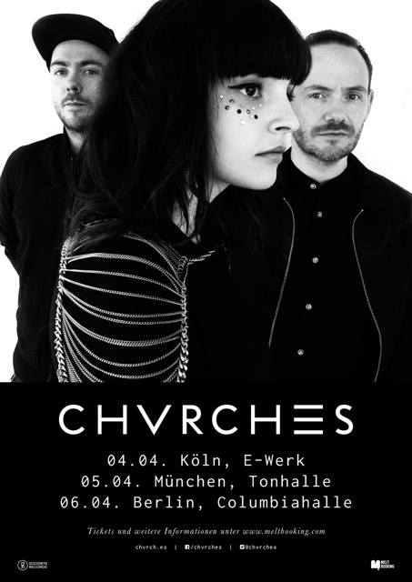 CHVRCHES Return to Germany for Three Shows in April