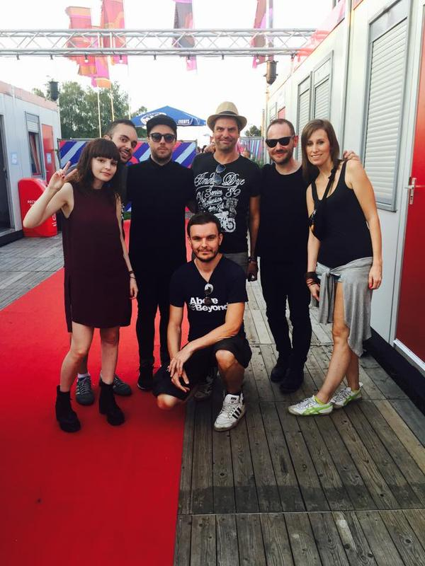 CHVRCHES Meet and Greet at Pukkelpop Festival