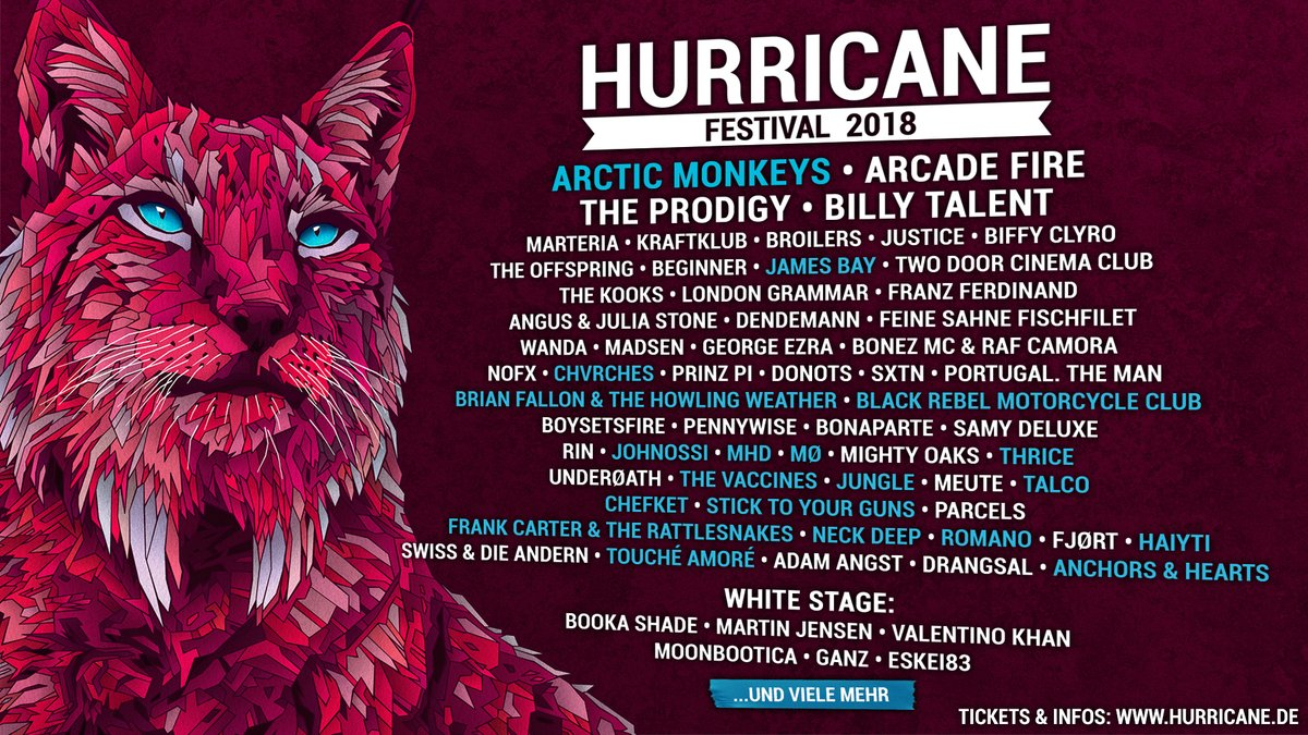 CHVRCHES Are Off to Germany for Hurricane Festival this June