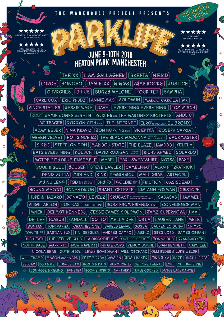 CHVRCHES Will be Playing Parklife Festival this June