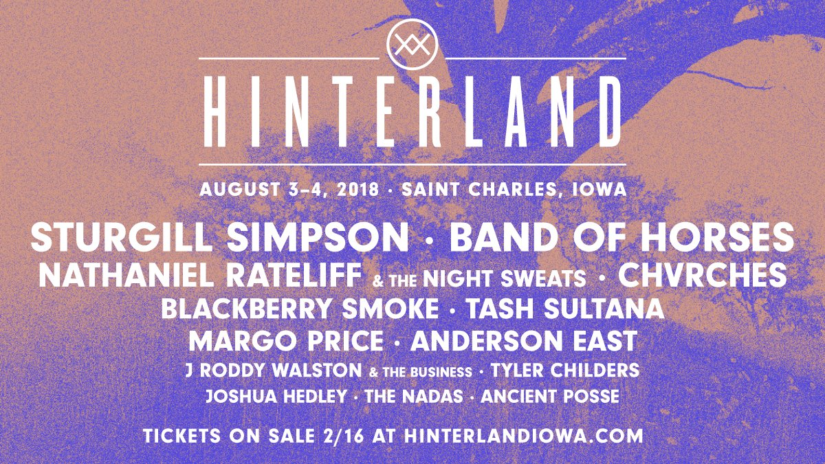 CHVRCHES Are Headed to Iowa for Hinterland Music Festival this Summer