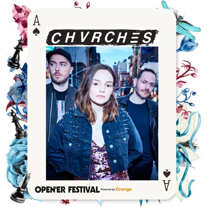 CHVRCHES Join the Open'er Festival Lineup in Poland this Summer