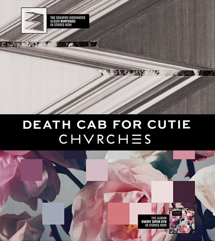 CHVRCHES & Death Cab for Cutie to Co-Headline US Tour Dates this June