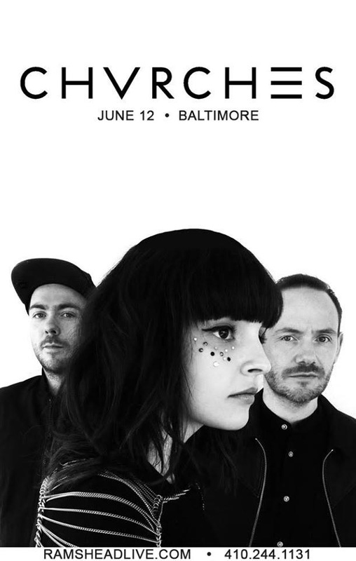CHVRCHES to Play Rams Head Live in Baltimore Next Month