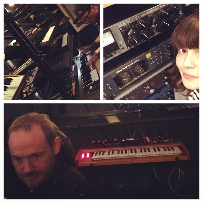 Chvrches back in the studio for album two.