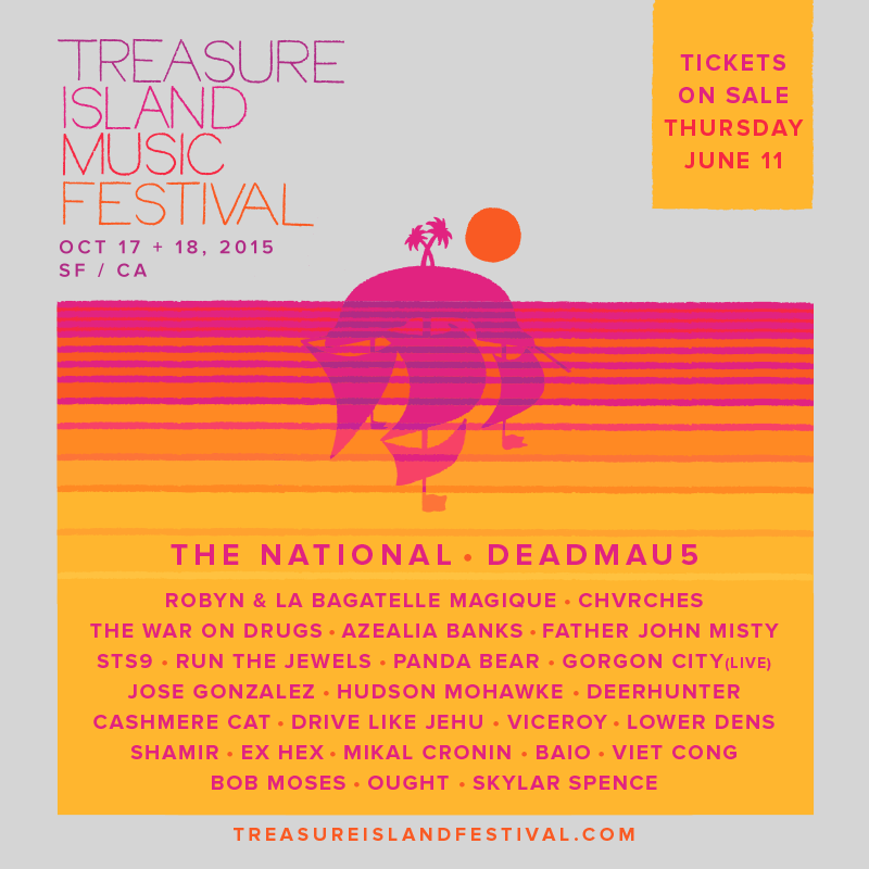 CHVRCHES Are Headed to Treasure Island Music Festival this October 2015