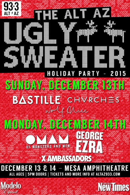 CHVRCHES to Play the ALT AZ Ugly Sweater Holiday Party Next Month