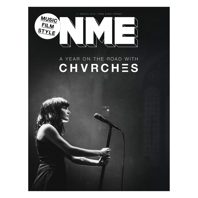 NME Explores the Tour Life of CHVRCHES