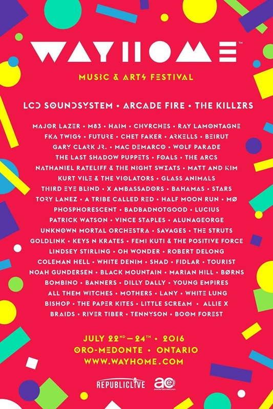 CHVRCHES to Play WayHome Music & Arts Festival this July