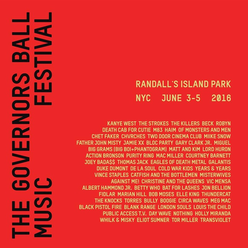 CHVRCHES Will Perform at the Governors Ball Music Festival this June