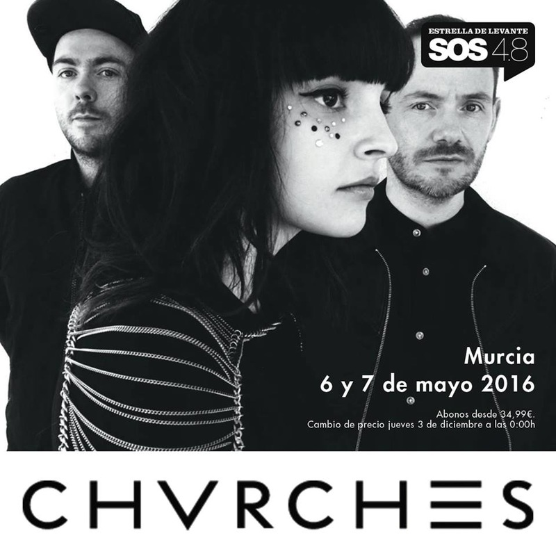 CHVRCHES Are Headed to Spain for Festival SOS 4.8