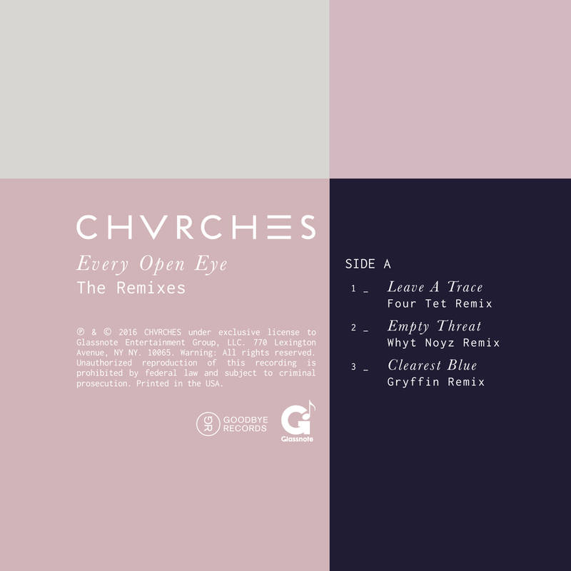 CHVRCHES' Every Open Eye Remix EP Available this Saturday for Record Store Day 2016