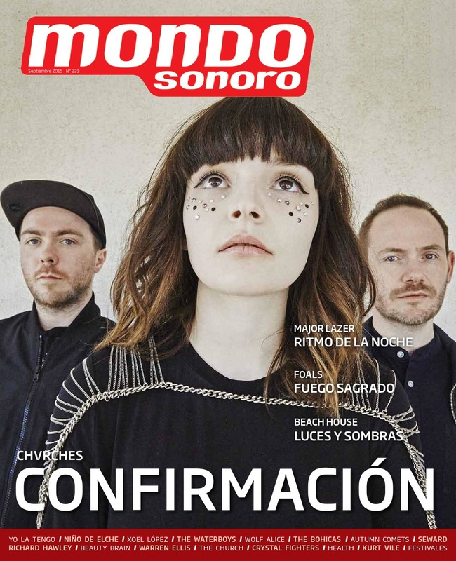 CHVRCHES' Cover Story for Mondo Sonoro Magazine
