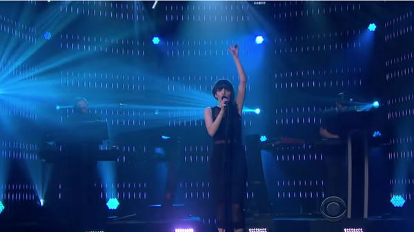 "Watch CHVRCHES Blow the Roof off The Late Late Show with ""Clearest Blue"""