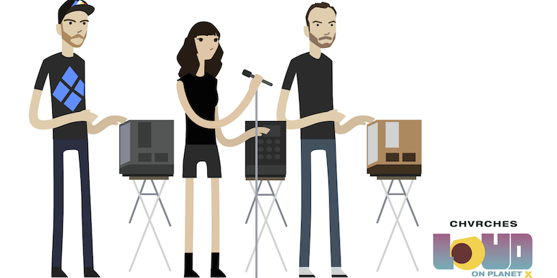 CHVRCHES Featured in the Video Game LOUD on Planet X