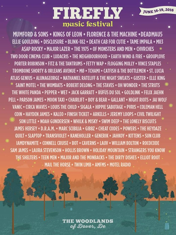 CHVRCHES Are Headed to Firefly Music Festival this Coming June