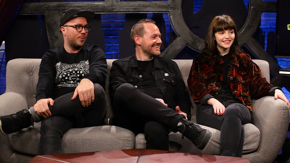 CHVRCHES Stop by The Star Wars Show