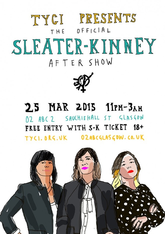 TYCI Presents the Official Sleater-Kinney After Show