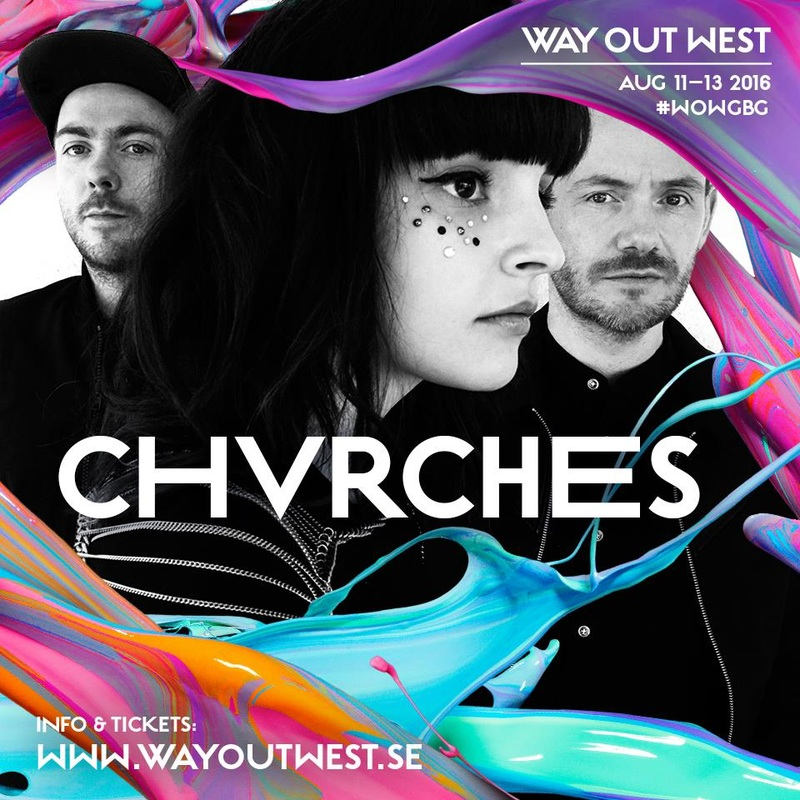 CHVRCHES Will Perform at Way Out West Next August