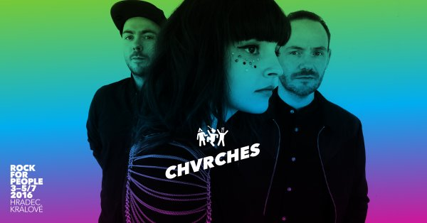 CHVRCHES Are Headed to Rock for People this July