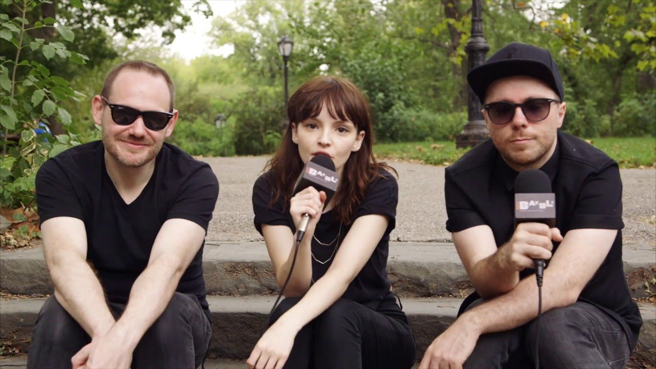 Watch CHVRCHES' Performance at SummerStage in Central Park NYC
