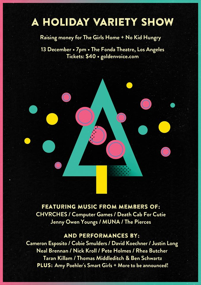 CHVRCHES & Justin Long Present a Holiday Variety Show