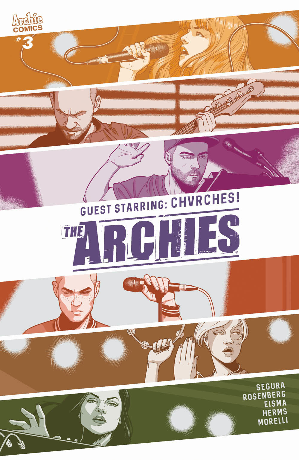 First Look at CHVRCHES in the Comic Book Series The Archies