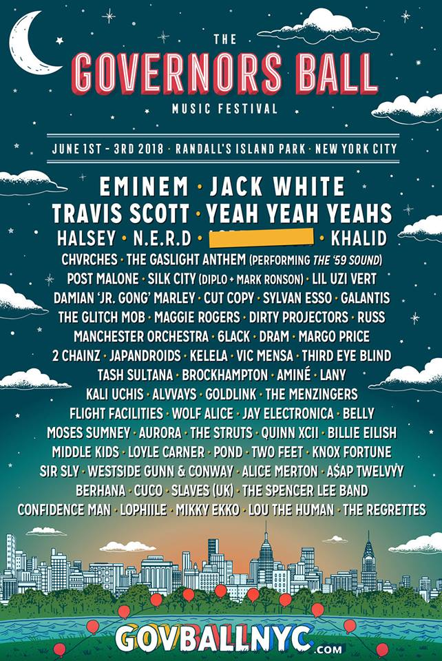 CHVRCHES on the Governors Ball 2018 Lineup