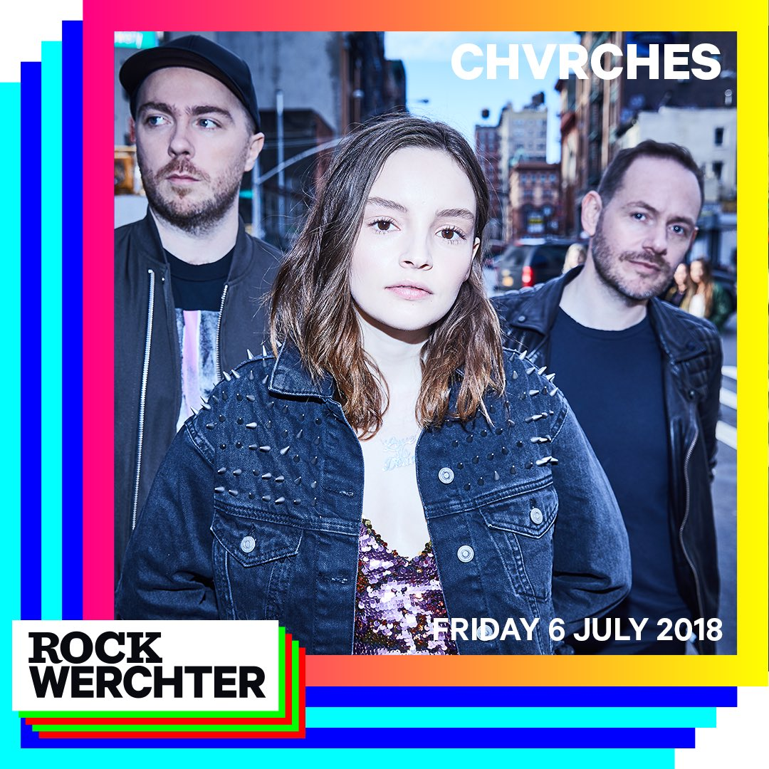 CHVRCHES Are Headed to Belgium for Rock Werchter this July