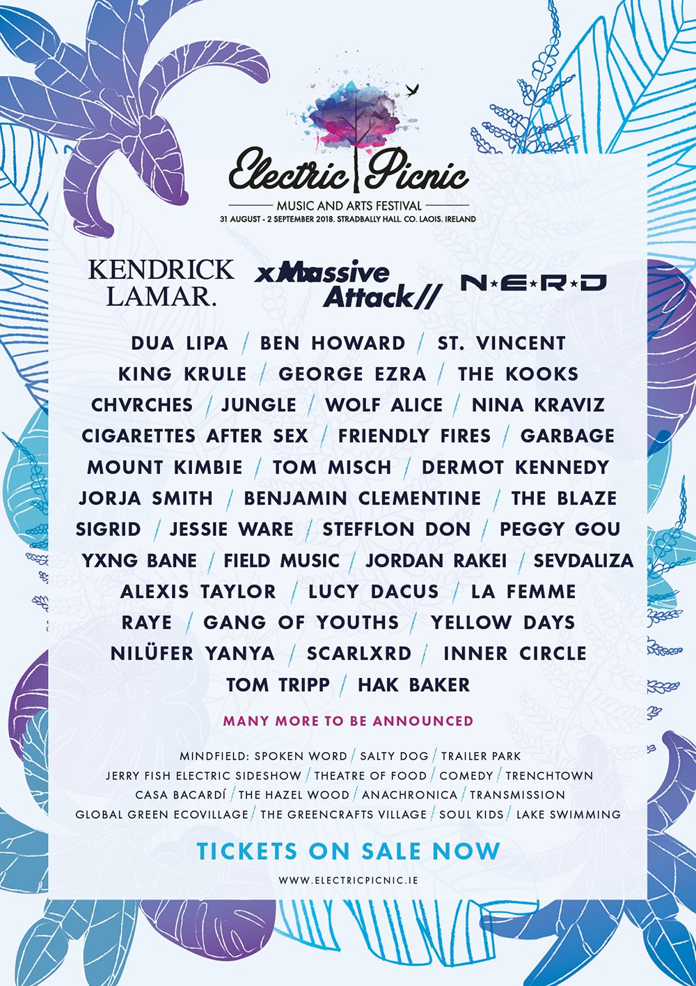 CHVRCHES Will be Playing Electric Picnic Festival this Summer