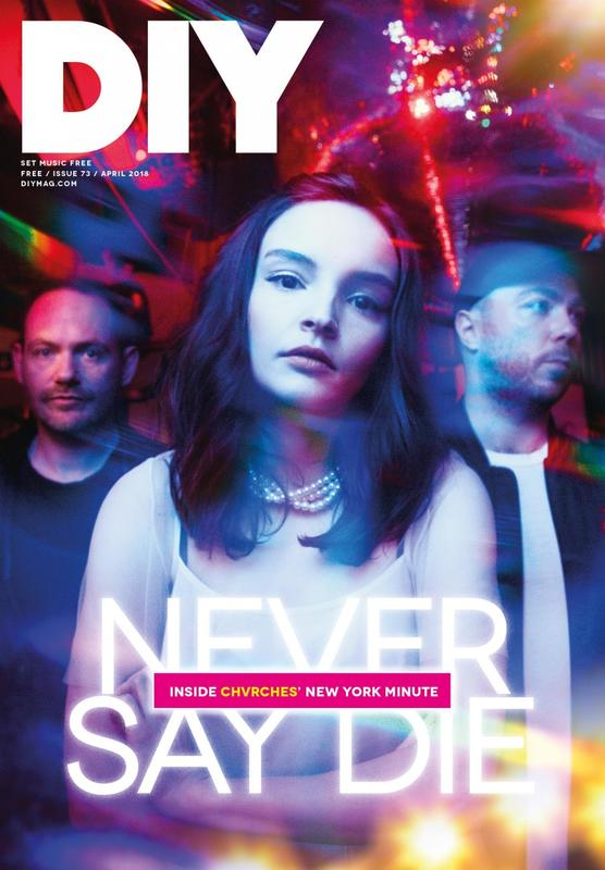 CHVRCHES' Never Say Die Cover Story for DIY Magazine