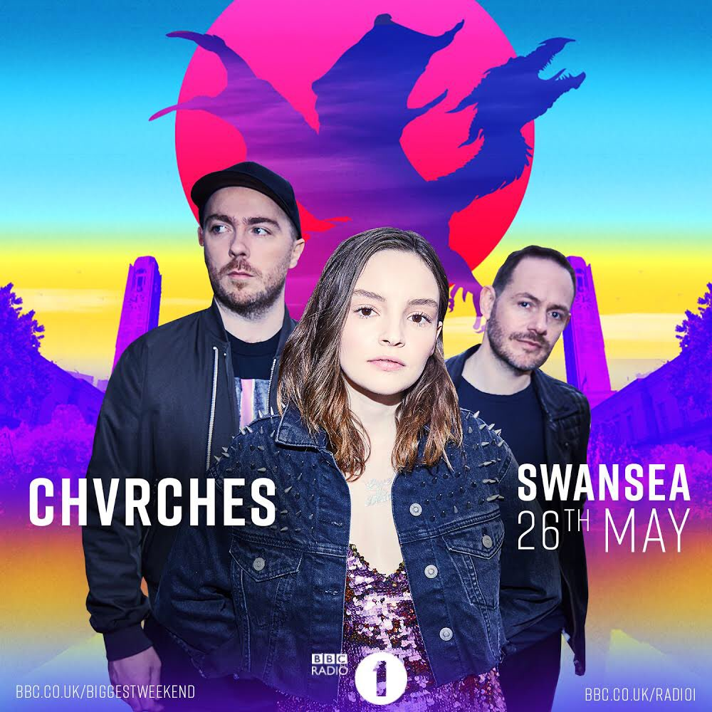 CHVRCHES Have Been Added to BBC's Biggest Weekend