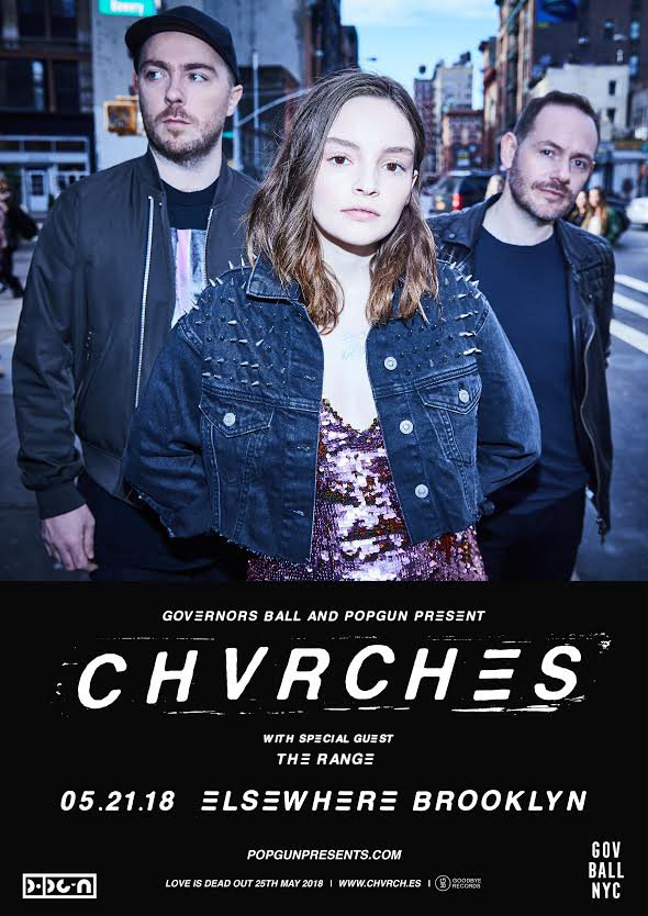 CHVRCHES Announce Intimate Show at Elsewhere in Brooklyn Next Week