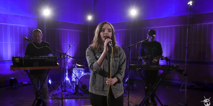 "Watch CHVRCHES Perform ""Graffiti"" and a Cover of Kendrick Lamar's ""Love"" on Triple J's Like A Version"