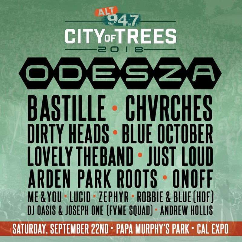 CHVRCHES Are Playing ALT 94.7's City of Trees Next Month in Sacramento