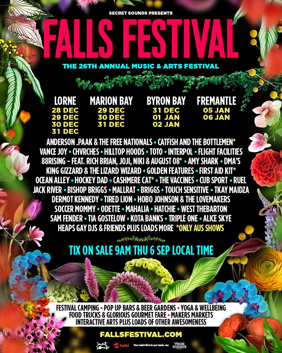 CHVRCHES Are Playing Falls Festival in Australia