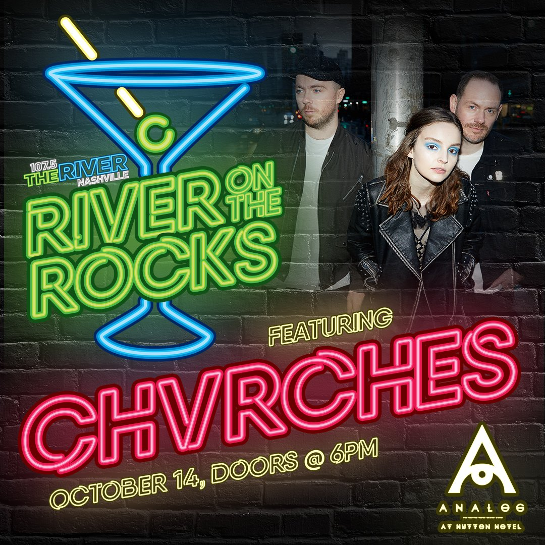 Join CHVRCHES For River on the Rocks in Nashville
