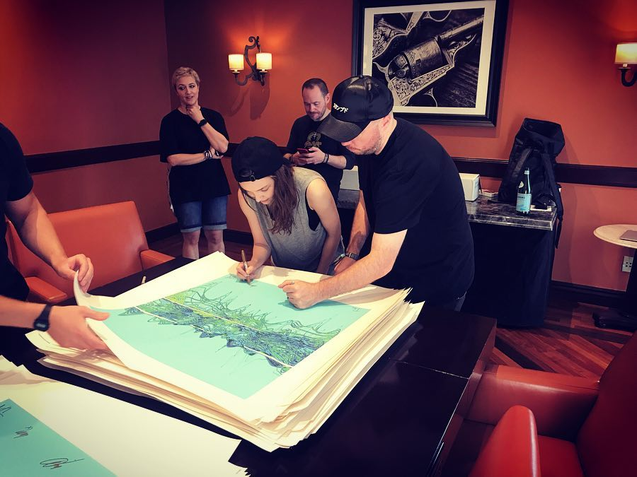 CHVRCHES Team Up with Soundwaves Art for A Limited-Edition Print to Support War Child UK