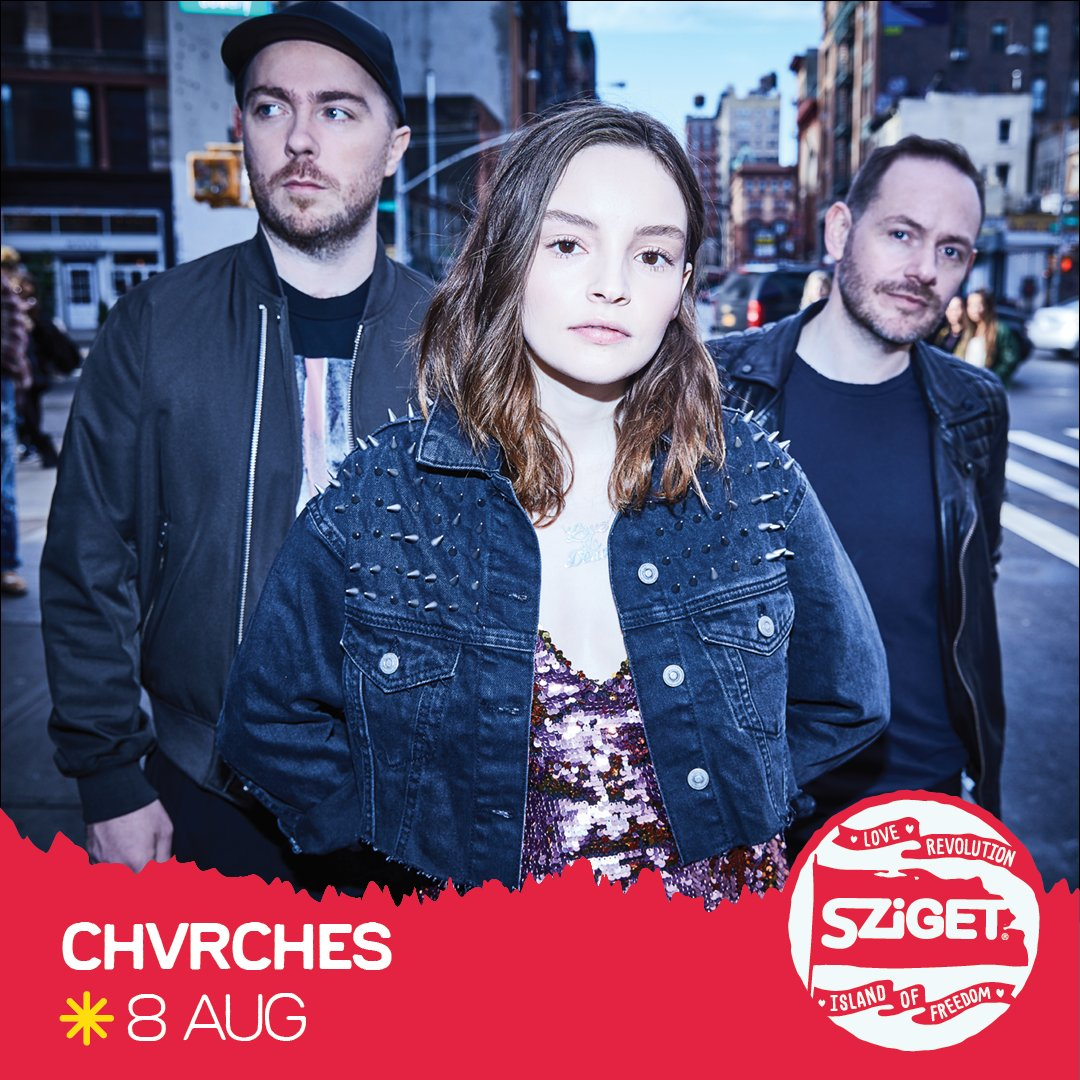 CHVRCHES Are Playing Sziget Festival in 2019