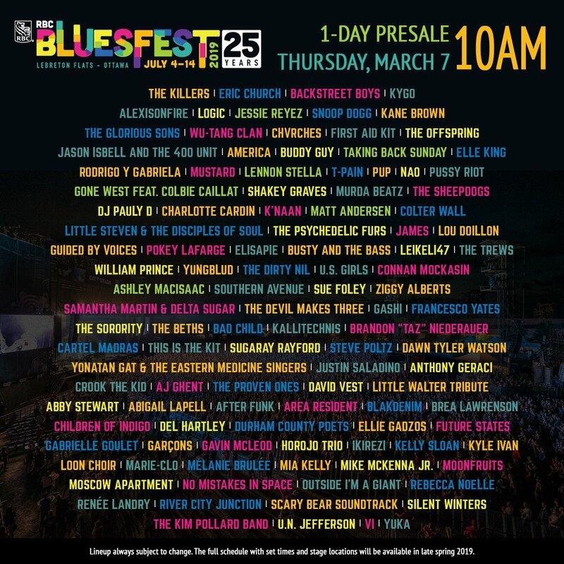 CHVRCHES Are Headed to Ottawa Bluesfest this July
