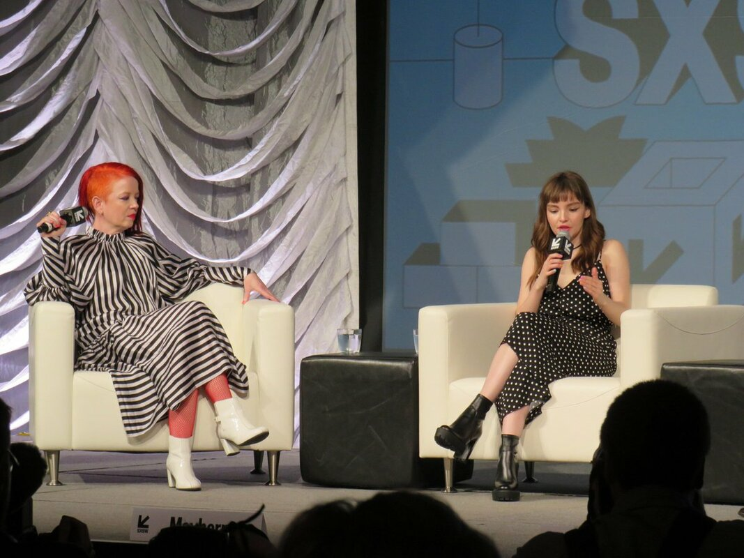 CHVRCHES' Lauren Mayberry & Garbage's Shirley Manson Talk Women in the Music Industry at SXSW