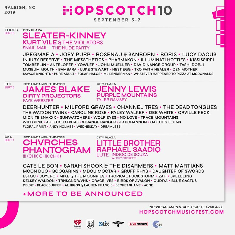 CHVRCHES Are Headlining Hopscotch Music Festival this September
