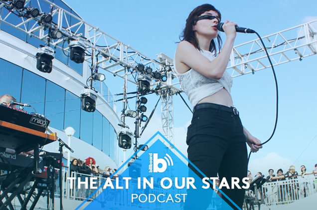 CHVRCHES Chat with the Alt In Our Stars Podcast While at Sea on the Parahoy Cruise