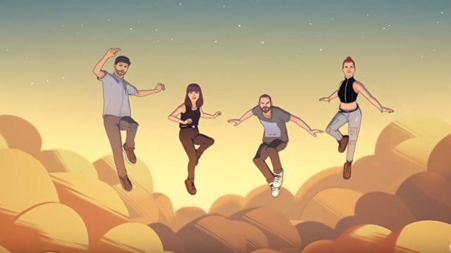 "CHVRCHES and Hayley Williams Discover Their Superhero Powers in the New Animated Video for ""Bury It"""